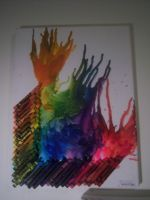 Crayon Melt Art by txsls123