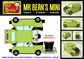 Mr Bean's Mini by mikedaws