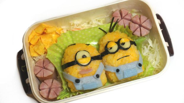 Minions for lunch! (Tutorial inside) by minicuteclub