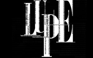 Lupe Type by WarehouseThoughts