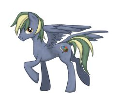 Crazy cutie mark by sukinorules