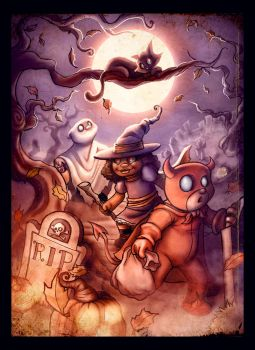 The Quest for Alls Hallow's Treats by MrDinks