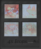 004. Icon Pack- Pandora Hearts by LOveeLoser