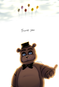 FNAF - First Anniversary by Atlas-White