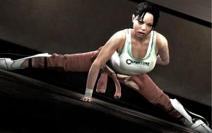 Chell Workout by Rastifan
