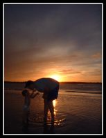 Father and Son by elyrmoore