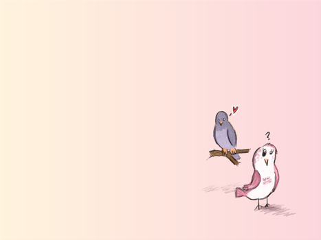 Love Birds, Sort of by PaperTheWall