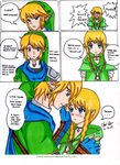 Link and Linkle Doujinshi Short: Senpai's love by Kisarasmoon