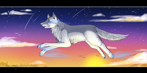 Touch the sky by Foxinaya