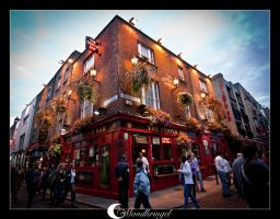 Ireland - Dublin - Temple Bar by Mondkringel