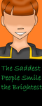 The Saddest People Smile The Brightest by Qulli2