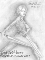 PLS: Sam Carter Pencils by DarkJediPrincess