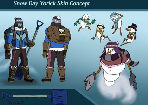 Snow Day Yorick concept by Jeddy017-VZ