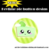 .+ New Keylime ButtonDesign +. by tobi2moodring