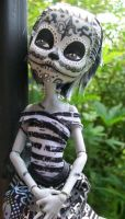 Monster High Custom Frankie Stein DOTD Doll 2 by AdeCiroDesigns