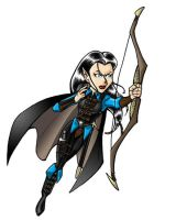 Gaming Character: Elf Ranger by BloodyWilliam