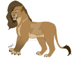 Lioness Adopt OPEN 50 points by KenliLion
