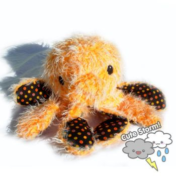 Giant Orange Octopus by The-Cute-Storm