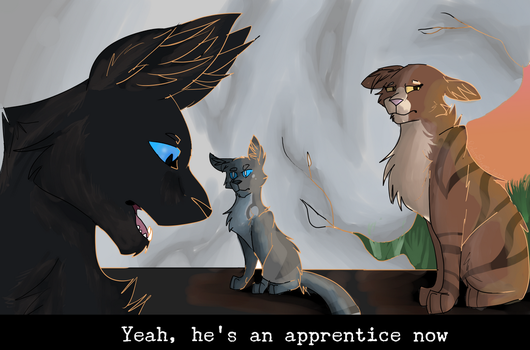 Yeah, He's An Apprentice Now by RobinSuperhero