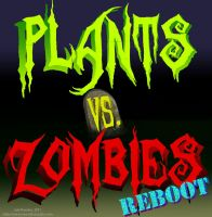 Plants vs Zombies REBOOT Logo by jalachan