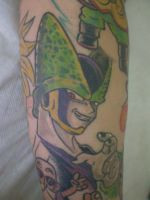 Cell tattoo. by chicotattoocanoas
