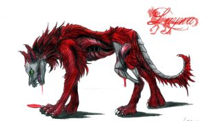 Hell Hound by Laynas