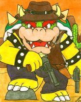 Cowboys and Mushrooms: Bowser by Villaman89