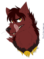 One Canine Mutt by Kiwitiger