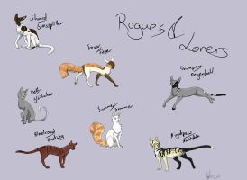 Good Rogue Names For Warrior Cats