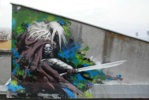 Drizzt Do 'Urden by GeorgeSinotwo