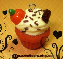 Scented Fall Cupcake Charm by pinknikki
