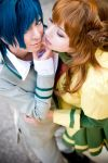 Chiaki and Marron - love game by Firiless
