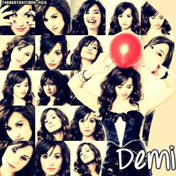 Demi Lovato by Thebesteditions-Nico