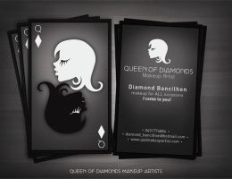 Queen Of Diamonds - BCard by UEY-S