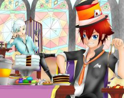 Mad Hatter's Tea Party by AkaneNekomura