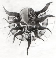 Happy Skull by chapstyle