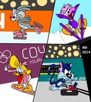 Tiny Toons at the Sochi 2014 Winter Olympics by TheYoshiState