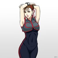 Chun-Li by chris-re5