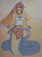 Lamia of Egypt by MythAreReal