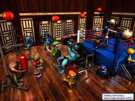 Pokemon 3D - Fighting Dojo