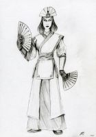 Avatar Kyoshi Uncolored by Bilgekhan