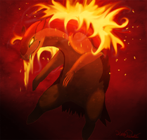 Typhlosion by Moose15