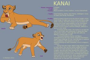 Character Sheet - KANAI by Nichers