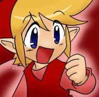 A Cute Lil Red Link by the-keeper-of-bee2
