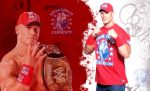 New WWE Champ Cena-RED by Gogeta126
