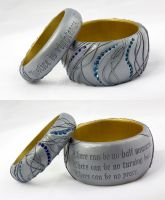 The Gift and the Curse - bracelets by tishaia