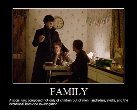 Family Motivational Poster by shallowgravy