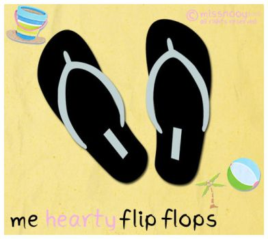 Me hearty flipflops by MissNooy