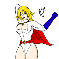Yet Another Powergirl by XantheStar