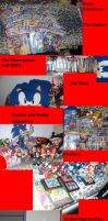 Sonic collection update by AshleyFluttershy